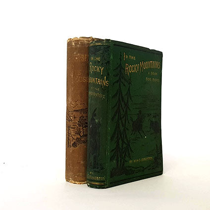 country-house-library-vintage-green-nature-books-by-foot-collections