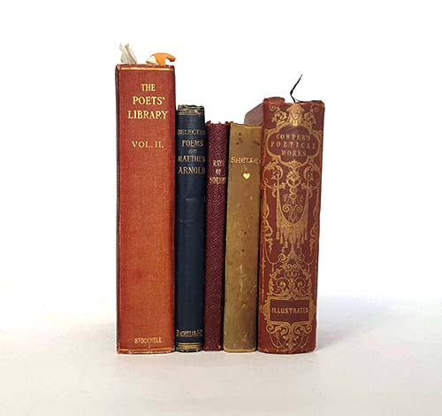 Poetry Vintage Five Book Collection