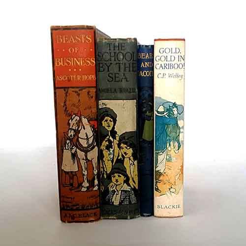 Vintage Country House Four Book Collection