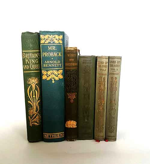 Green Vintage Six Book Collection