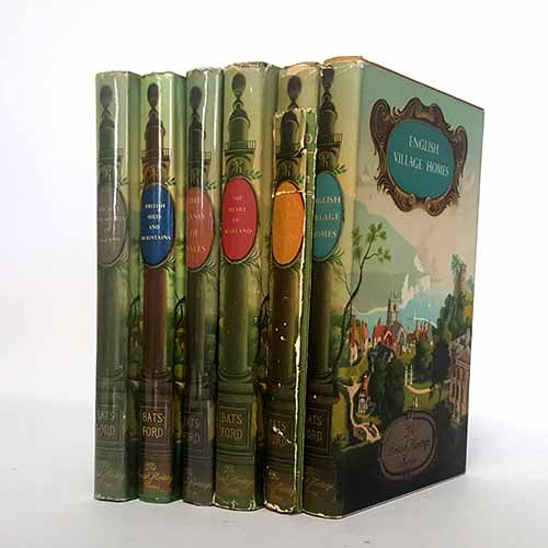 Vintage British Lands and History Six Book Collection
