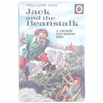 thrift-vintage-christmas-gifts- gifts-december-xmas-decorative-country-house-library-books-noel-jack-and-the-beanstalk-antique-old-christmas-festive-patterned-for-kids-ladybird-classic-