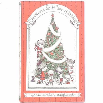 classic-christmas-xmas-patterned-thrift-antique-country-house-library-decorative-vintage-christmas-is-a-time-of-giving-joan-walsh-anglund-noel-books-gifts-old-festive-christmas-gifts-december-