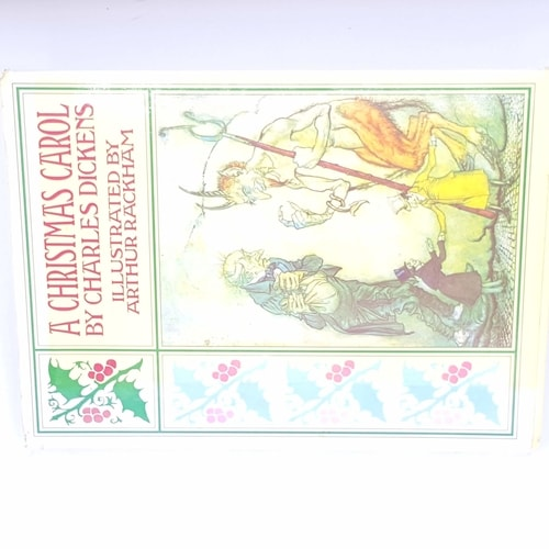 xmas-christmas-gifts-christmas-books-classic-december-25th-present-gift-vintage-thrift-antique-christmas-festive-noel-christmas-carol-ghosts-and-other-stories-patterned-decorative-old-christmas-delivery-country-house-library-charles-Dickens-