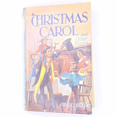 christmas-delivery-xmas-christmas-gifts-christmas-christmas-carol-ghosts-and-other-stories-books-vintage-thrift-charles-Dickens-christmas-festive-noel-classic-patterned-december-25th-present-gift-antique-old-decorative-country-house-library