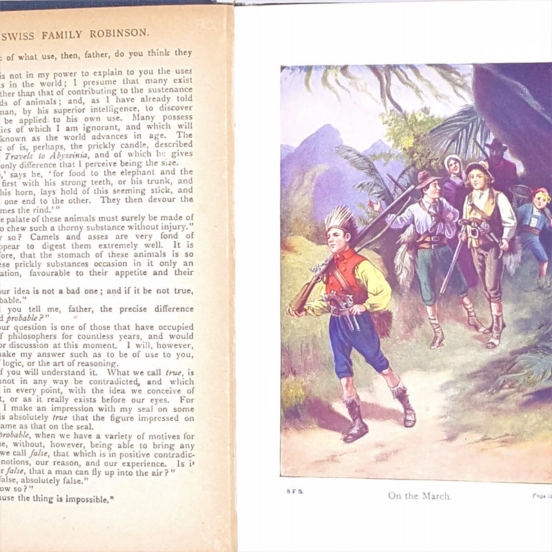 The Swiss Family Robinson by Johann David Wyss 1916