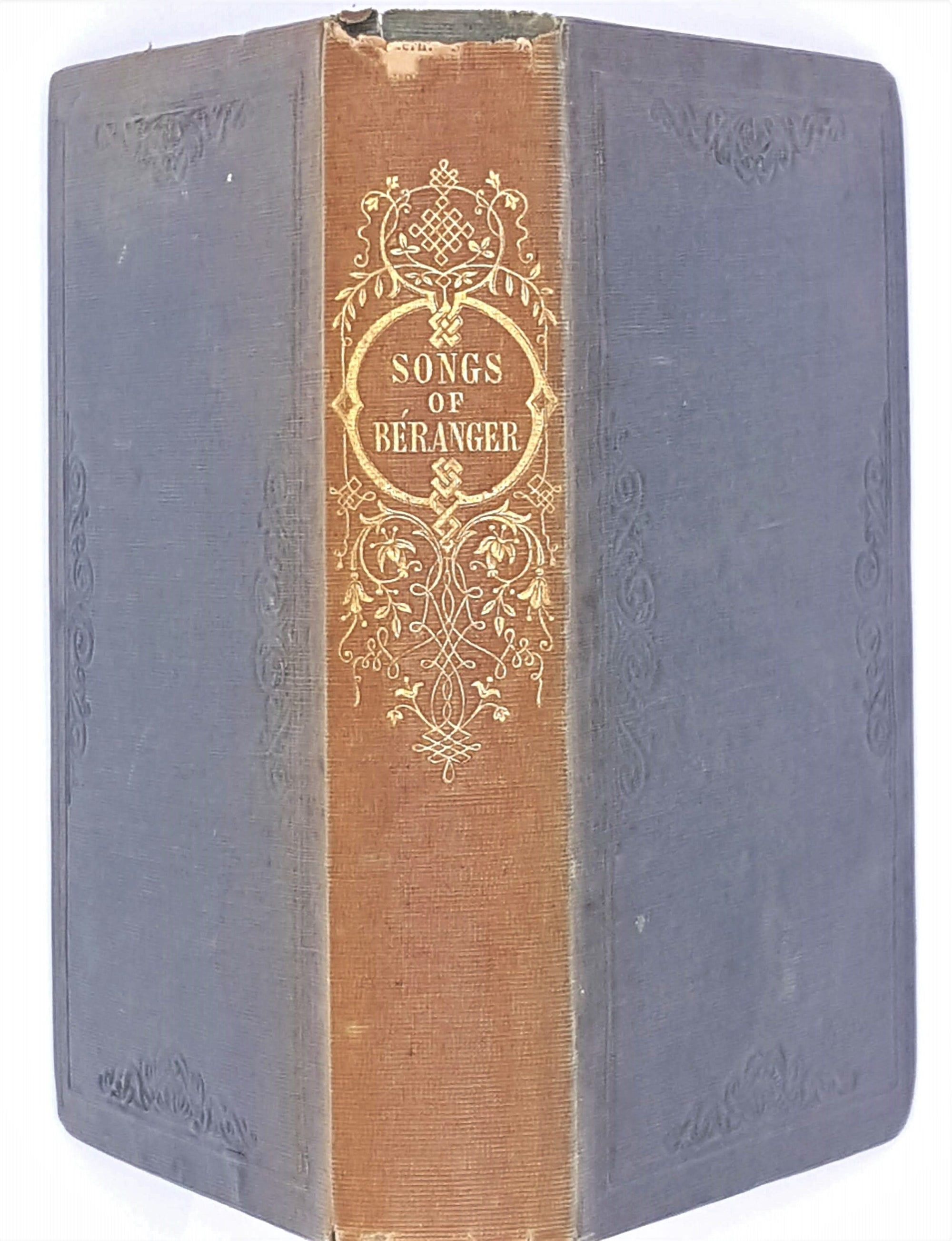 One Hundred Songs of Pierre-Jean de Beranger 1847