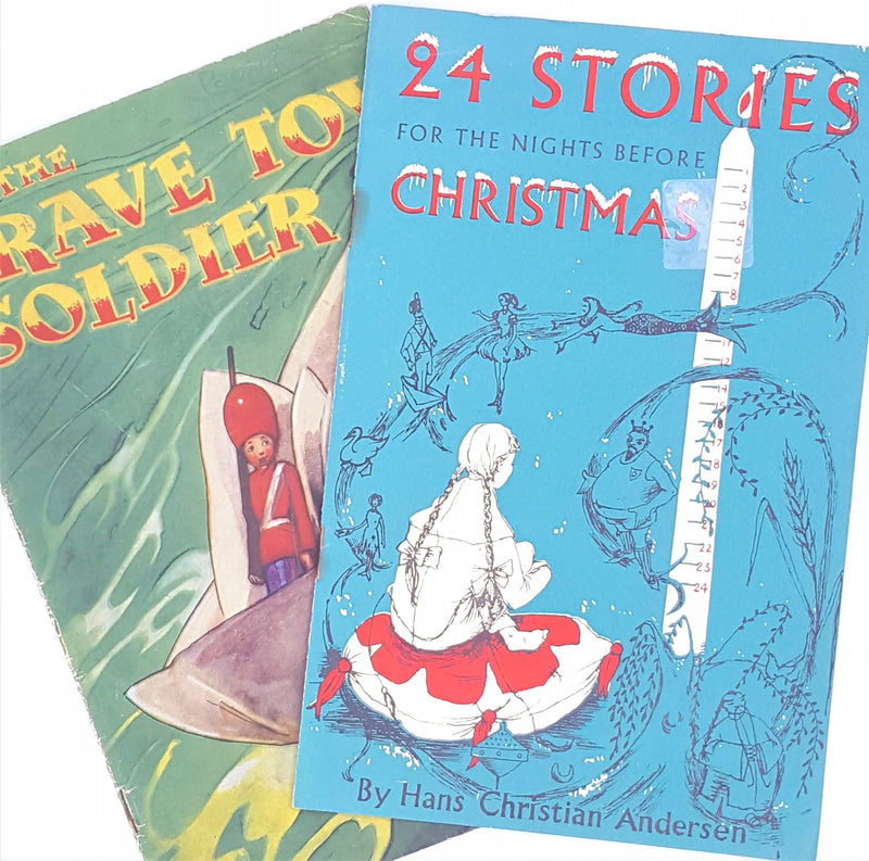 Hans Christian Andersen's 24 Stories for the Nights Before Christmas and The Brave Toy Soldier Collection