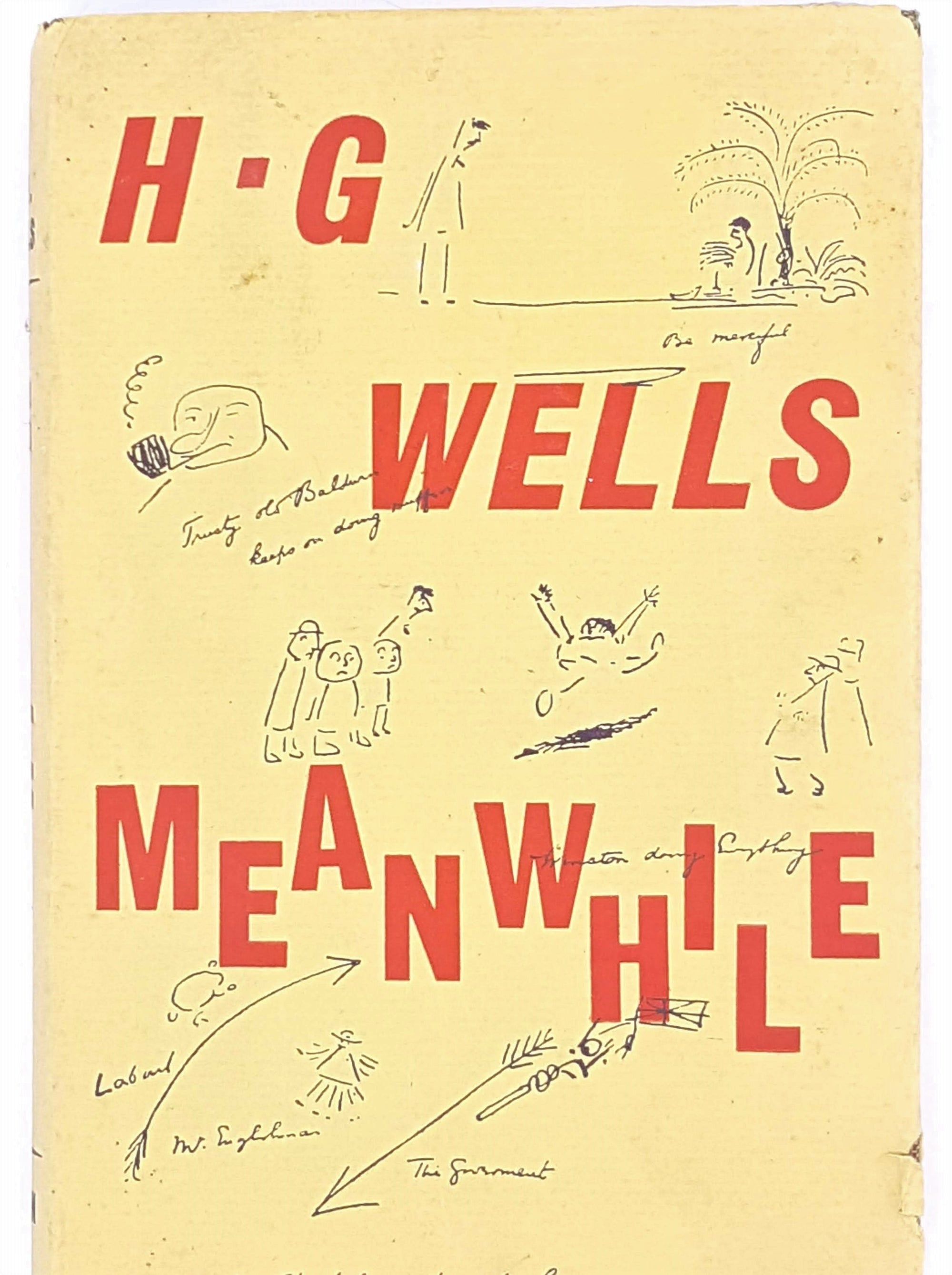 Meanwhile, The Picture of a Lady by H. G . Wells 1962