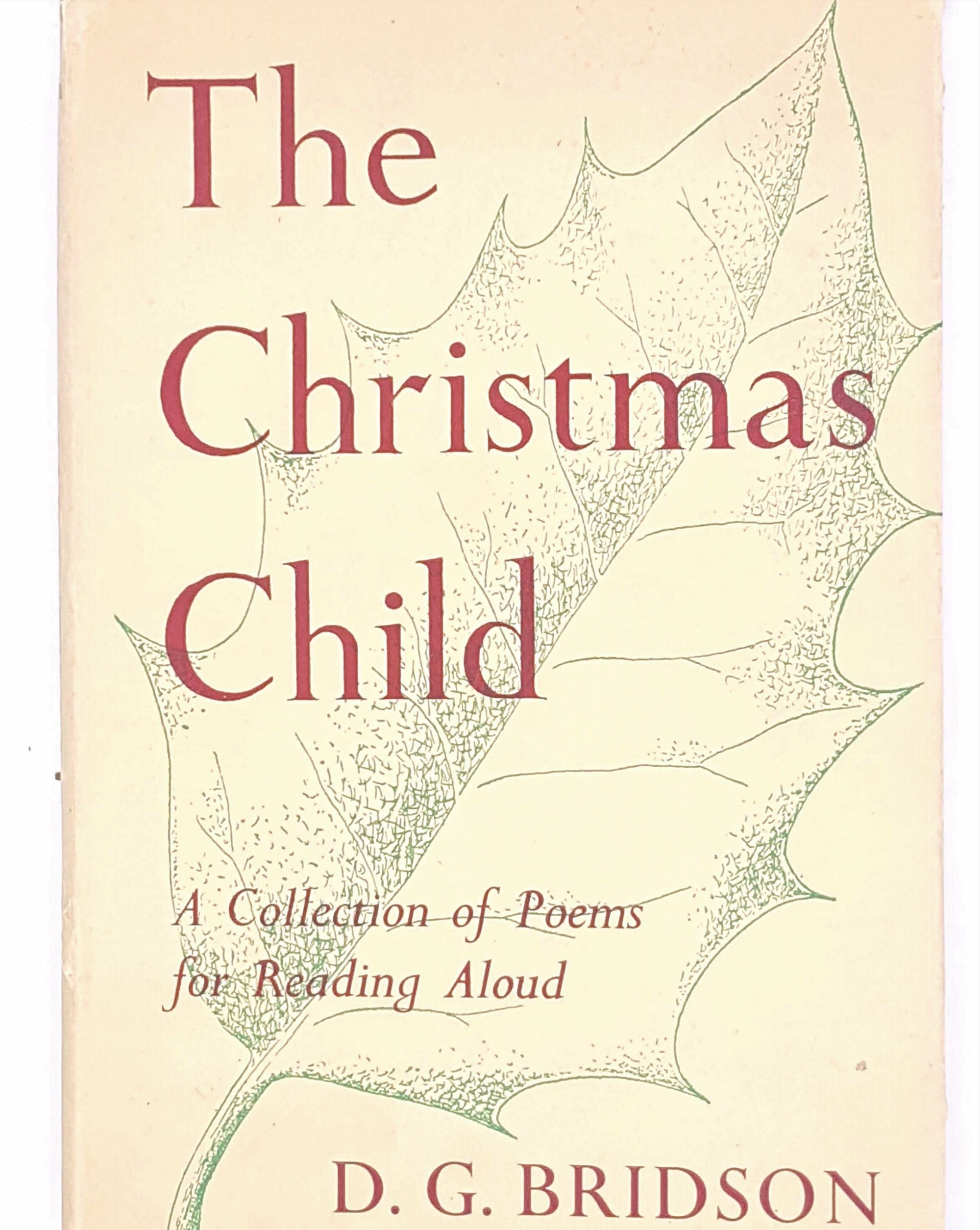 The Christmas Child by D. G Bridson 1950