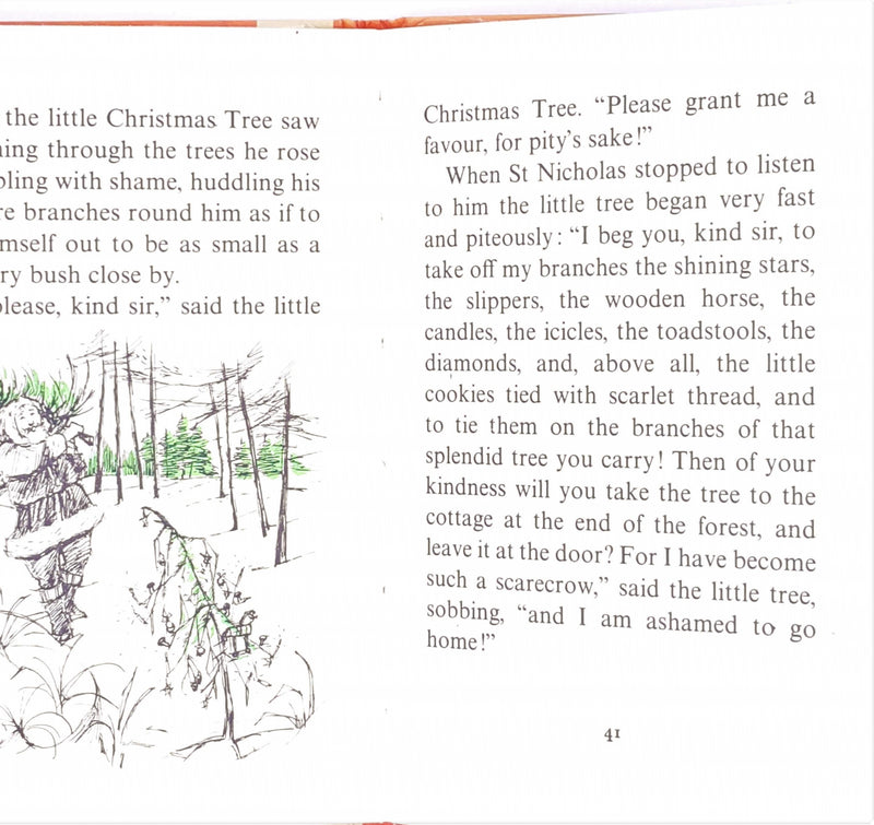 The Good Little Christmas Tree by Ursula Moray Williams 1976