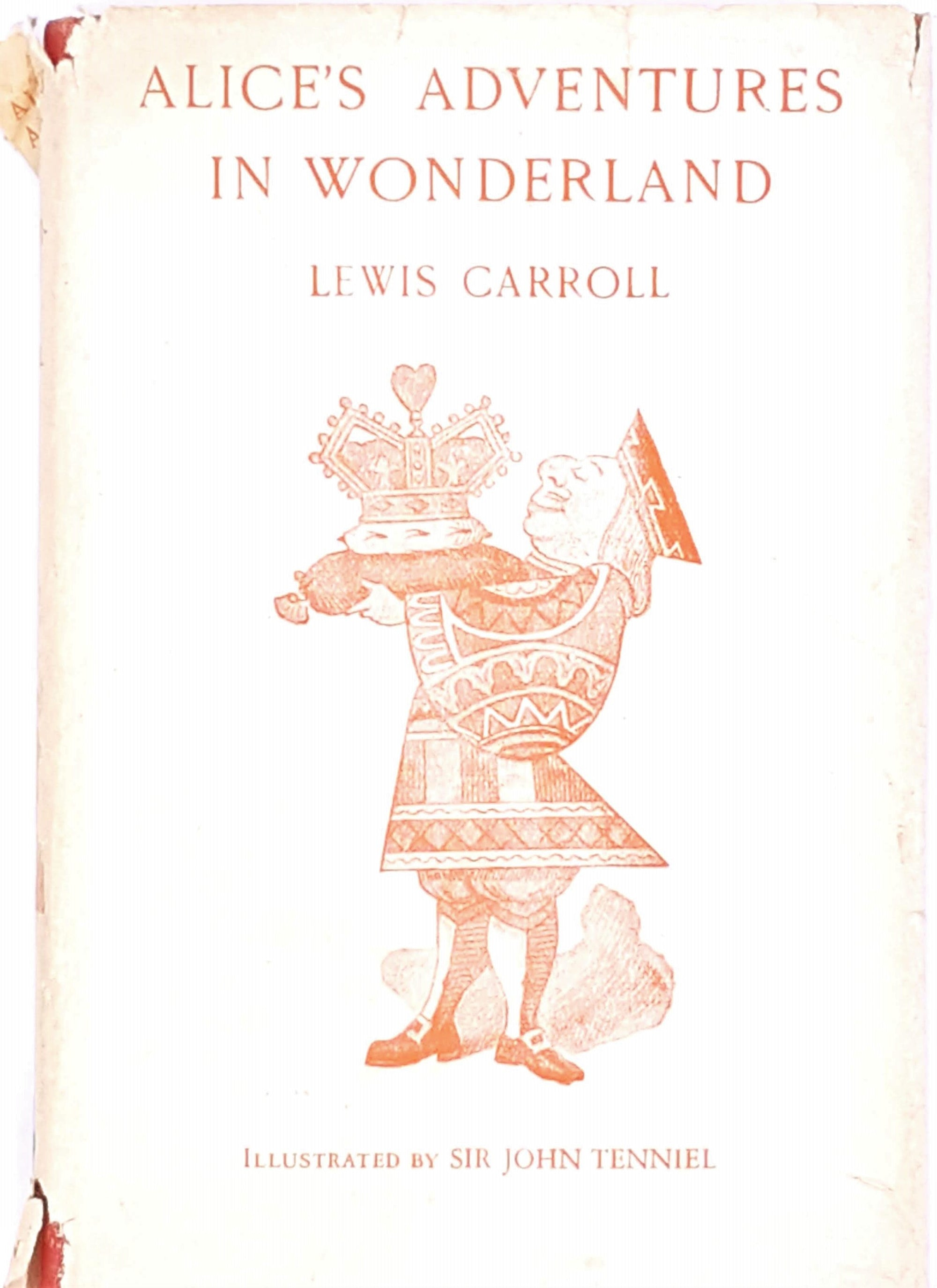 Alice's Adventures in Wonderland by Lewis Carroll, 1941 Macmillan Edition
