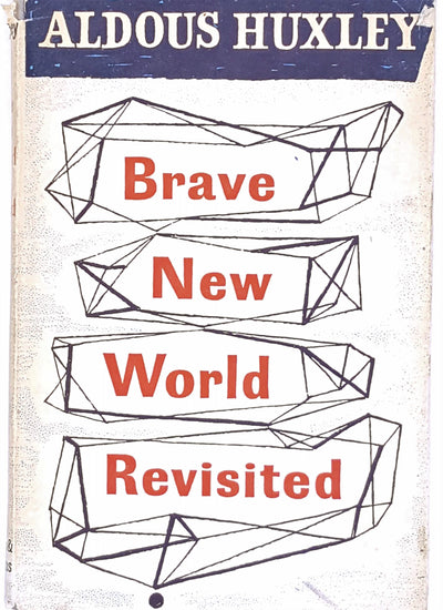 1966-thrift-charter-and-winds-country-house-library-vintage-dystopia-old-patterned-decorative-white-antique-classic-brave-new-world-revisited-books-aldous-huxley-