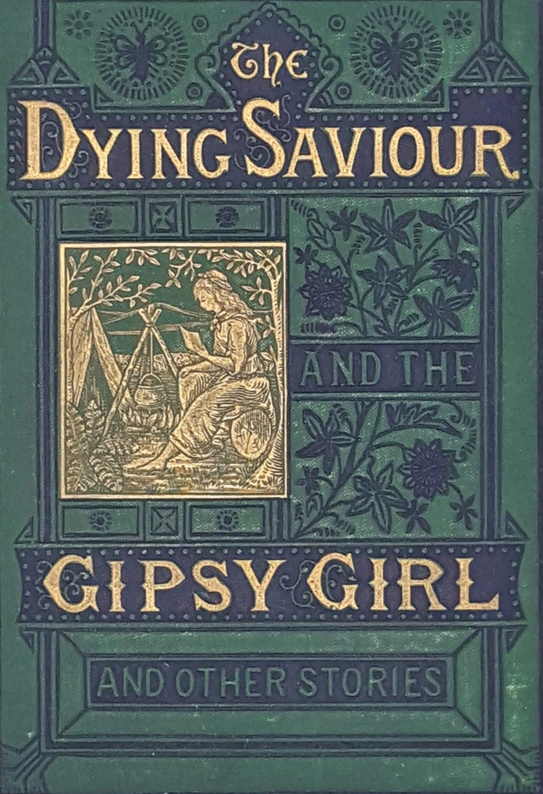 The Dying Saviour and the Gipsy Girl by Marie Hall 1878