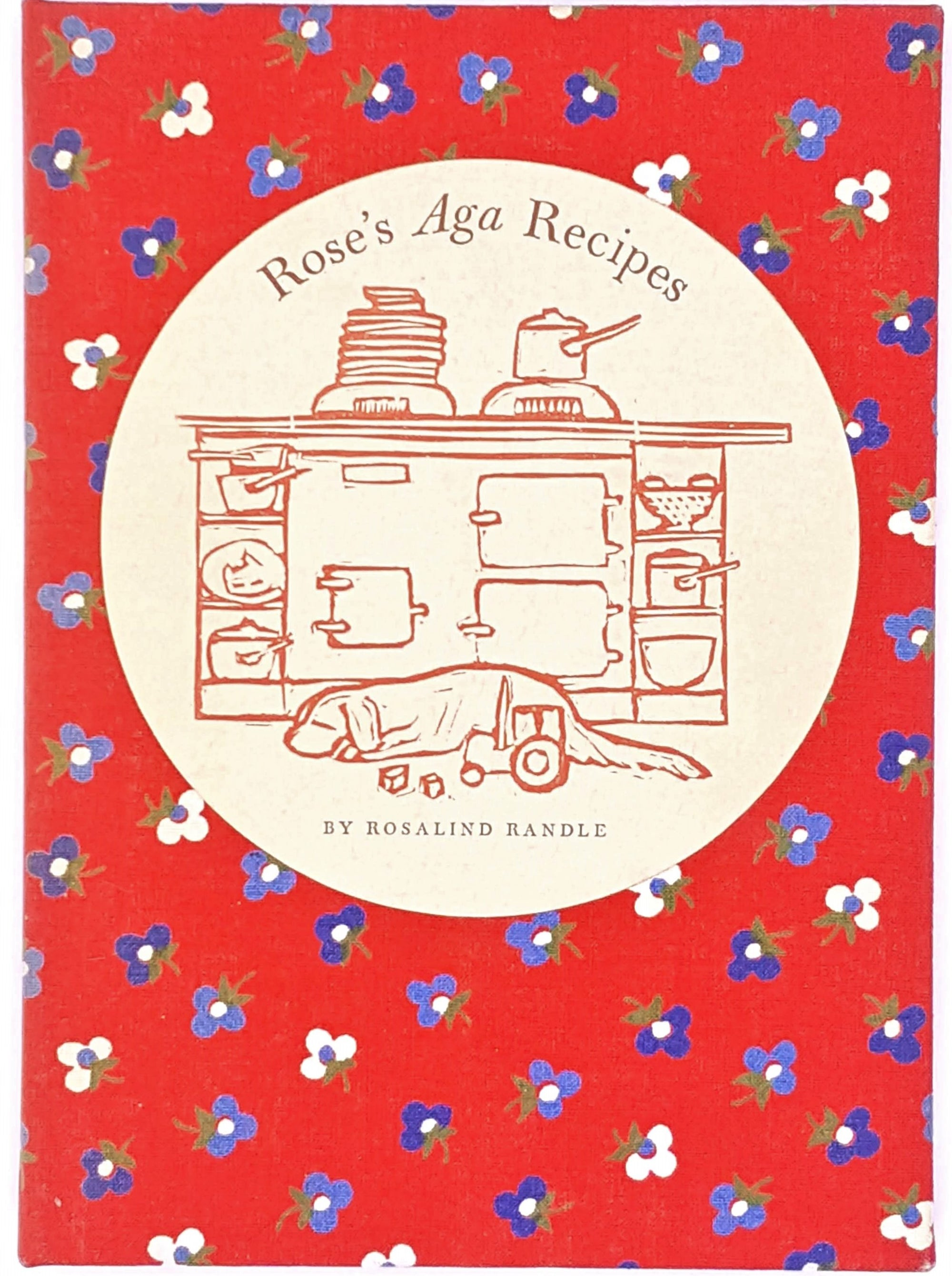 rosalind-randle-decorative-antique-country-house-library-food-patterned-recipe-cooking-thrift-geometric-old-vintage-red-books-aga-classic-