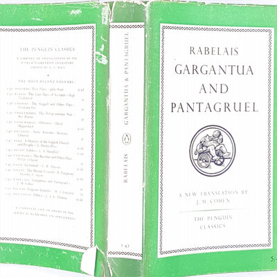 Gargantua and Pantagruel by Francois Rabelais 1955