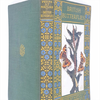 Peeps at Nature: British Butterflies by Charles A Hall 1922