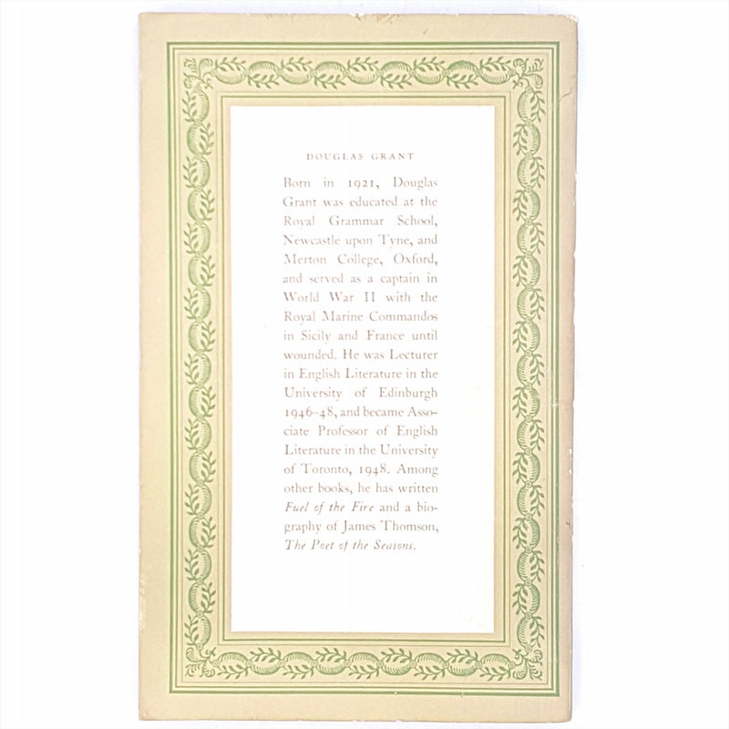 green-vintage-old-books-douglas-grant-penguin-poets-classic-decorative-1953-alexander-pope-poetry-penguin-country-house-library-antique-patterned-thrift-
