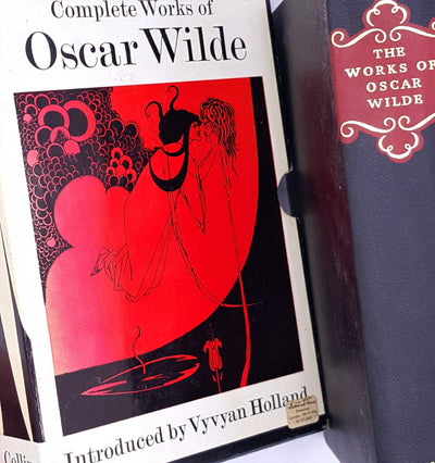The Complete Works of Oscar Wilde with sleeve