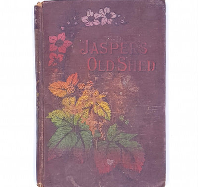 jaspers-old-shed-patterned-old-a-m-coker-vintage-thrift-classic-brown-books-decorative-antique-religious-tract-society-country-house-library-