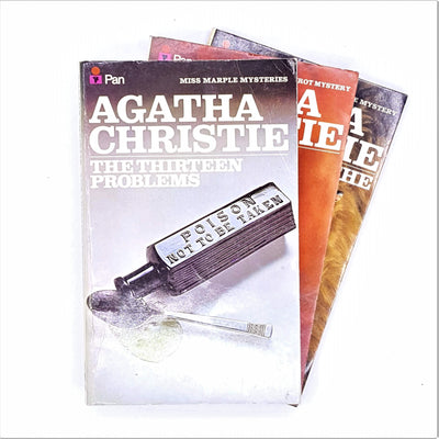 Agatha Christie Three Book Pan Collection