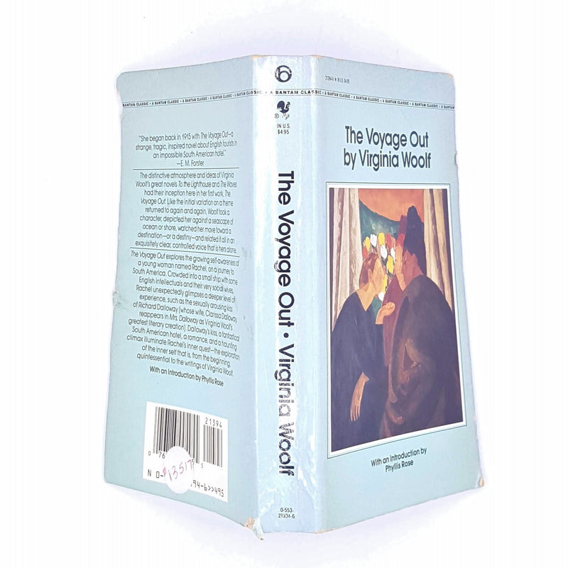 Virginia Woolf's The Voyage Out Classic Novel Literature Vintage