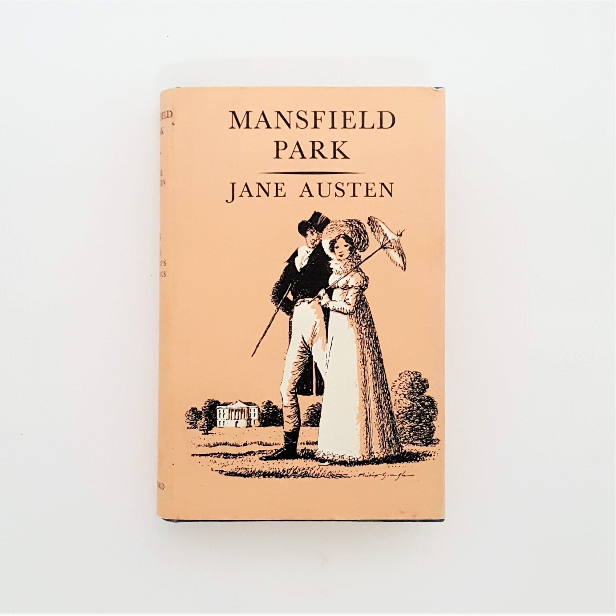 Jane Austen's Mansfield Park 1965 Country House Library