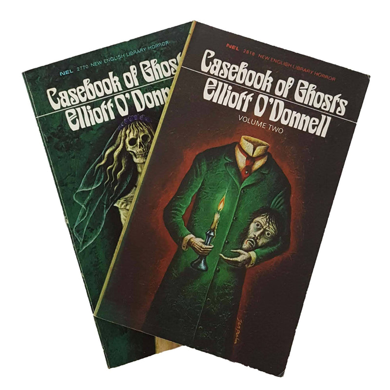 Casebook-of Ghosts-by-Elliott-O'Donnell-Volume-1-&-2