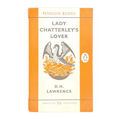 Vintage Penguin Book: Lady Chatterley's Lover by D H Lawrence Country House Library