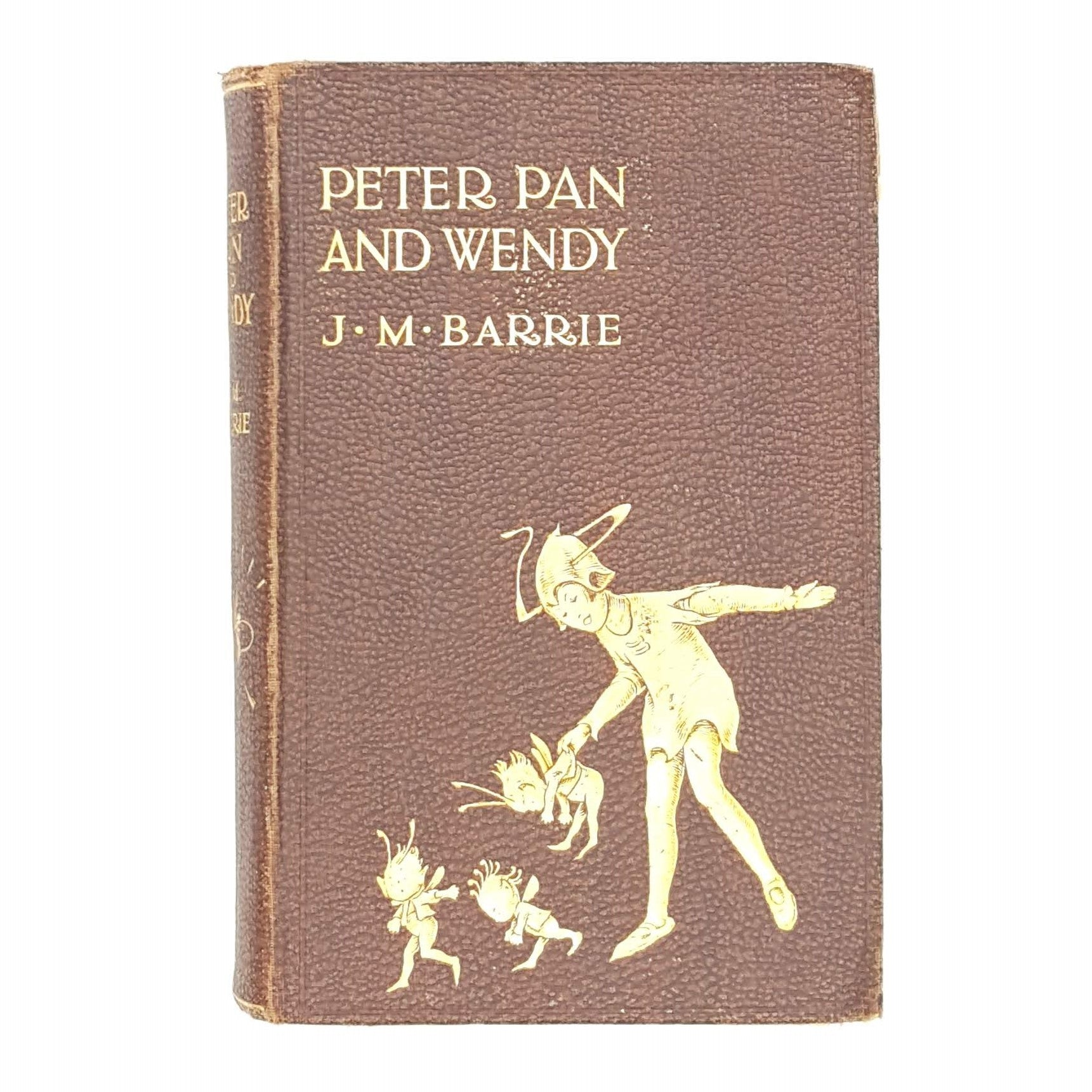 Rare-Edition-of-Peter-Pan-and-Wendy-by-J.-M.-Barrie
