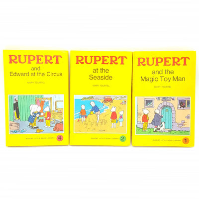 Rupert Bear Collection by Mary Tourtel Country House Library
