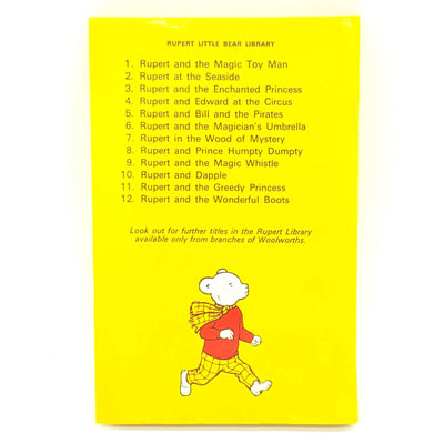 Rupert Bear Collection by Mary Tourtel 1970s