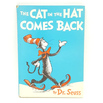 First Edition The Cat in the Hat Comes Back by Dr Seuss Country house Library