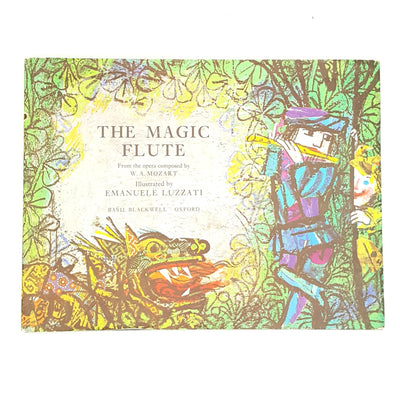 The Magic Flute -  Illustrated by Emanuele Luzzati Country House Library