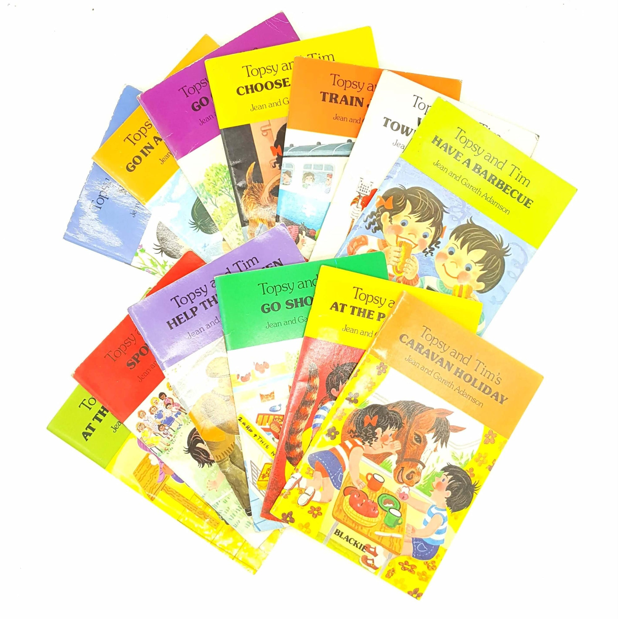 Collection of Twenty Topsy and Tim c.1970 Country House Library