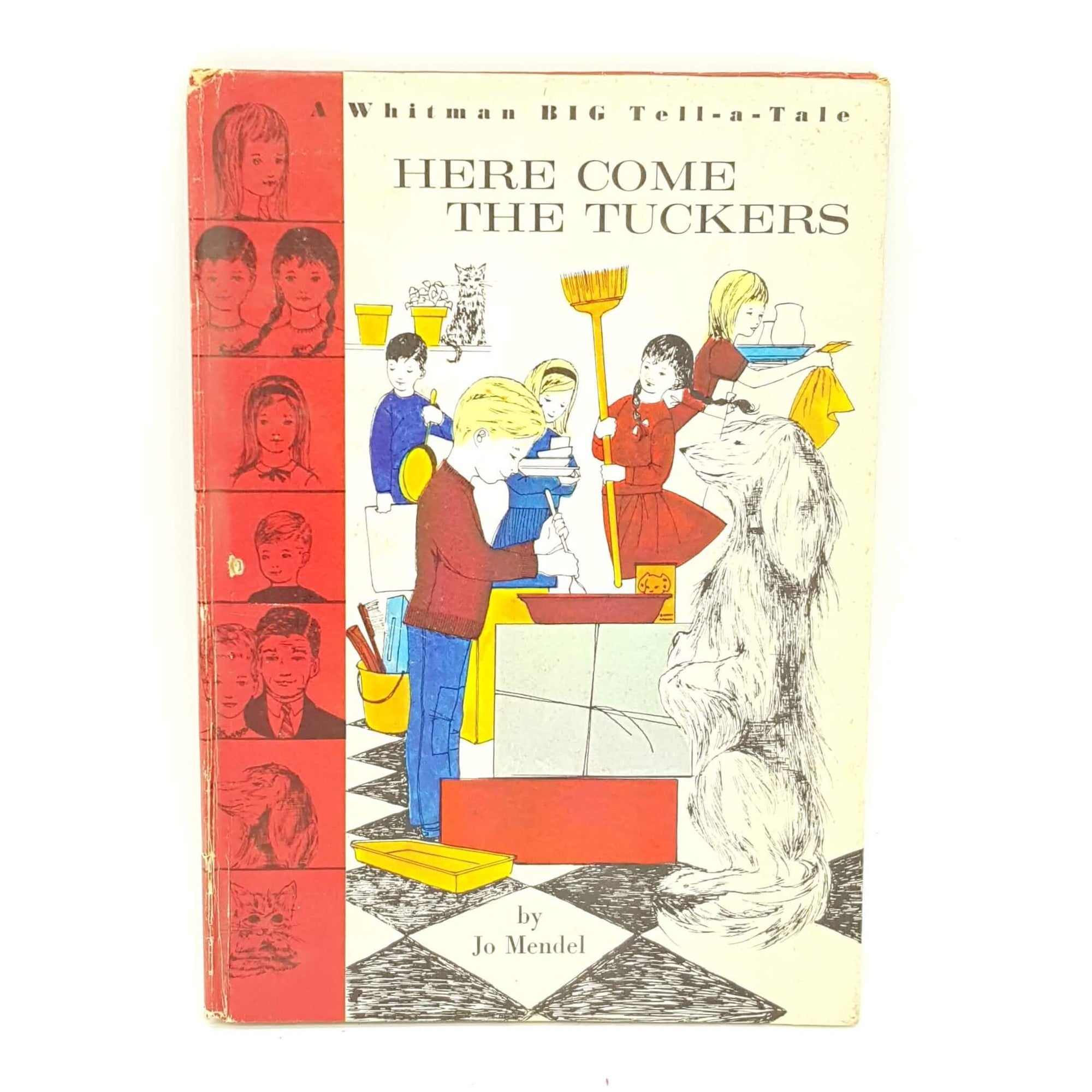 Here Come The Tuckers by Jo Mendel Country House Library
