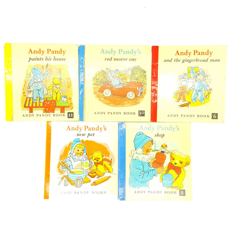 Andy Pandy Five Book Collection c.1960 Country House Library
