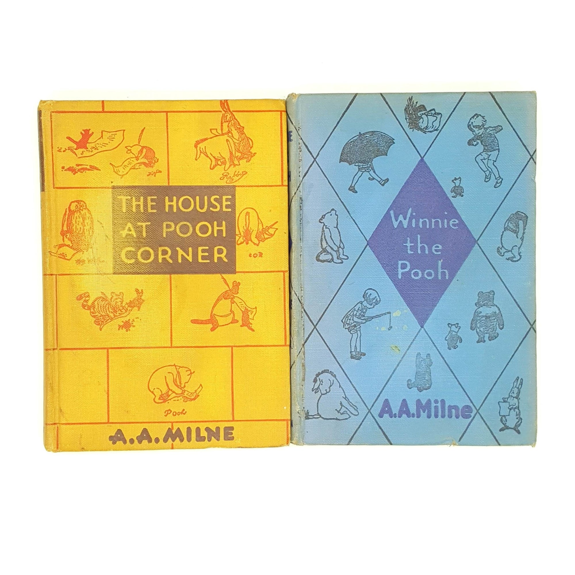 A.A.Milne's Winnie The Pooh and The House at Pooh Corner Country House Library