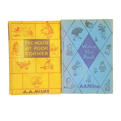 A.A.Milne's Winnie The Pooh and The House at Pooh Corner