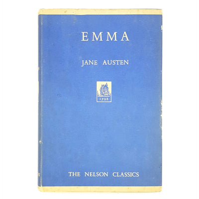 Emma by Jane Austen - The Nelson Classics Country House Library
