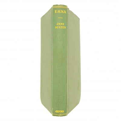 Emma by Jane Austen - Oxford 1927 Country House Library