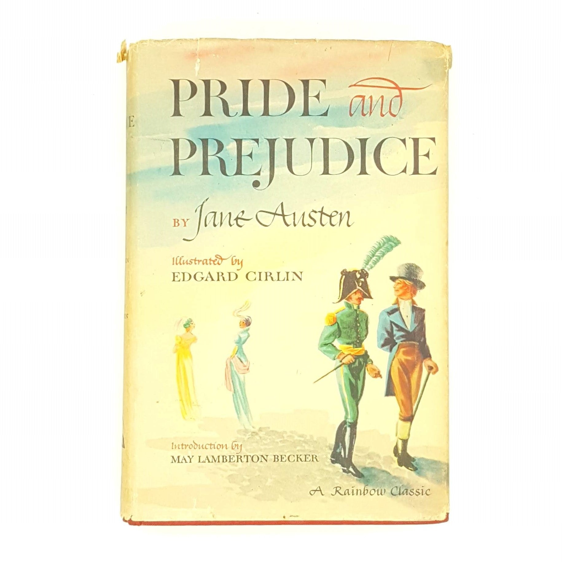 Pride and Prejudice by Jane Austen - Rainbow Classic Country House Library