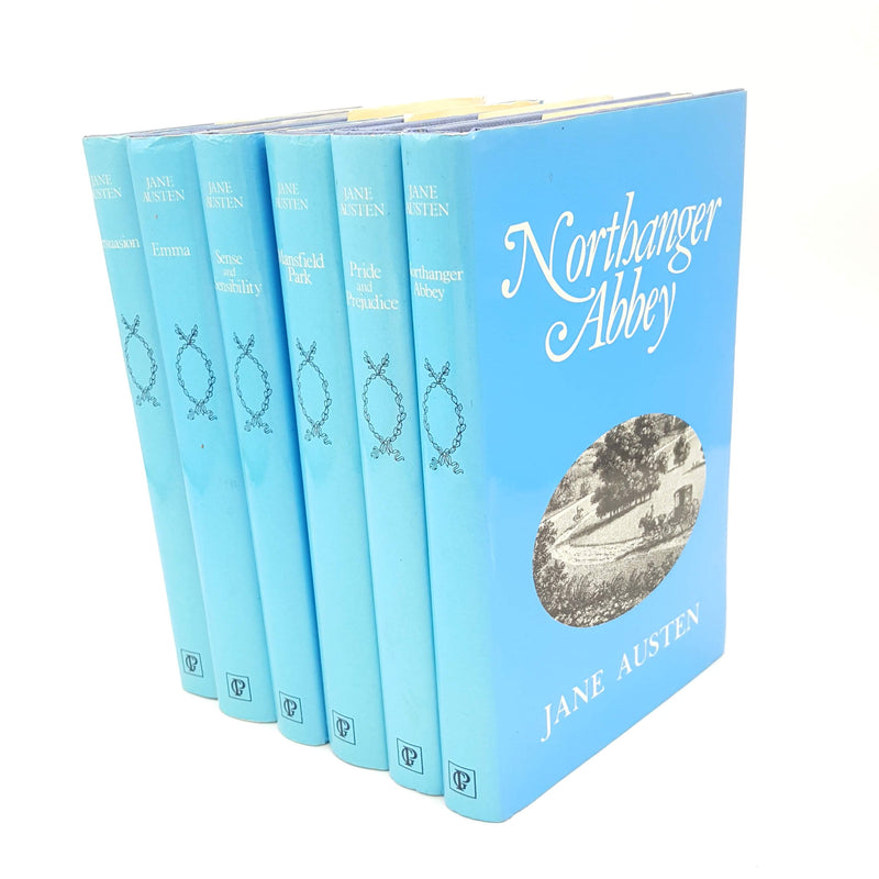 Jane Austen Six Book Collection Country House Library