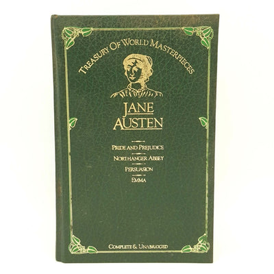 Jane Austen Four Stories - Book Club Associations 1984 Country House Library