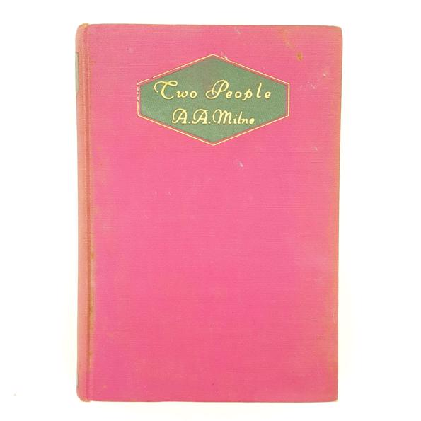 First Edition A. A. Milne's Two People 1931 Country House Library