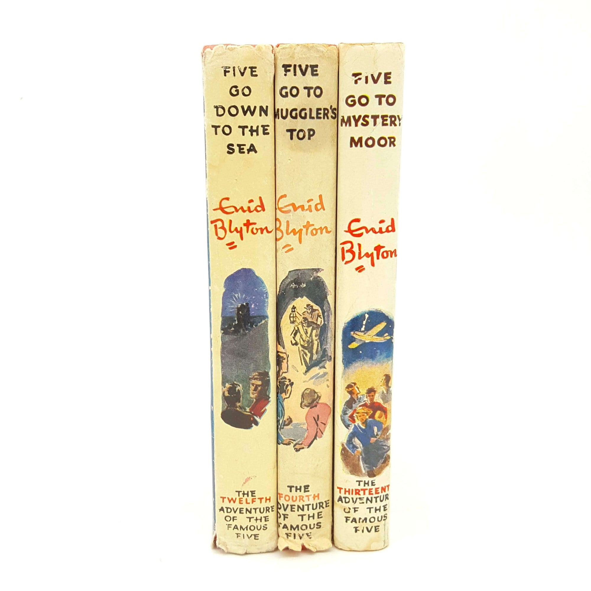 Enid Blyton Famous Five Collection - Three Books Country House Library