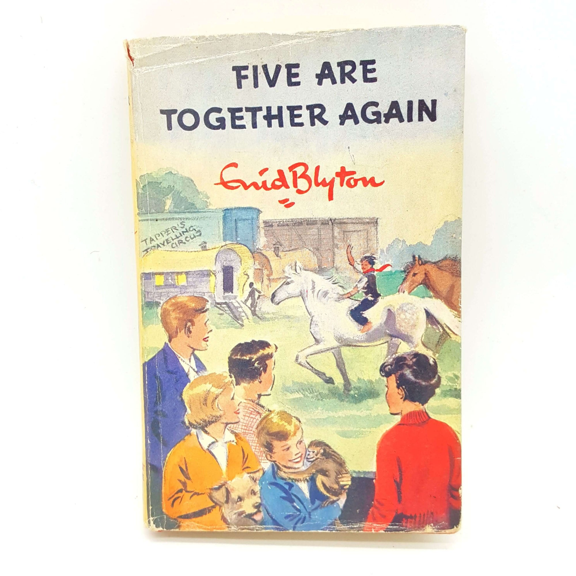 First Edition Five Are Together Again by Enid Blyton 1963 Country House Library