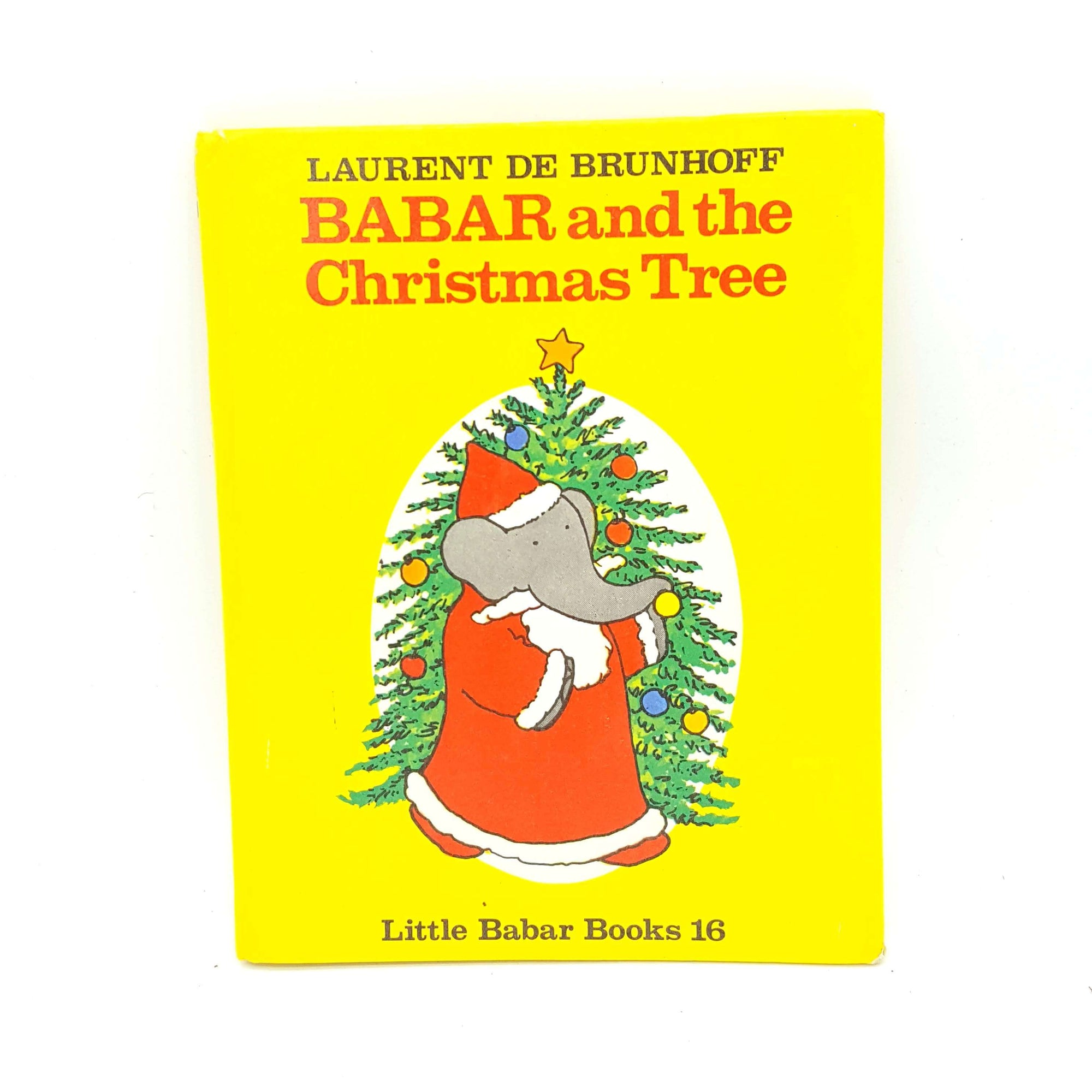 Barbar and the Christmas Tree by Laurent de Brunhoff Country House Library
