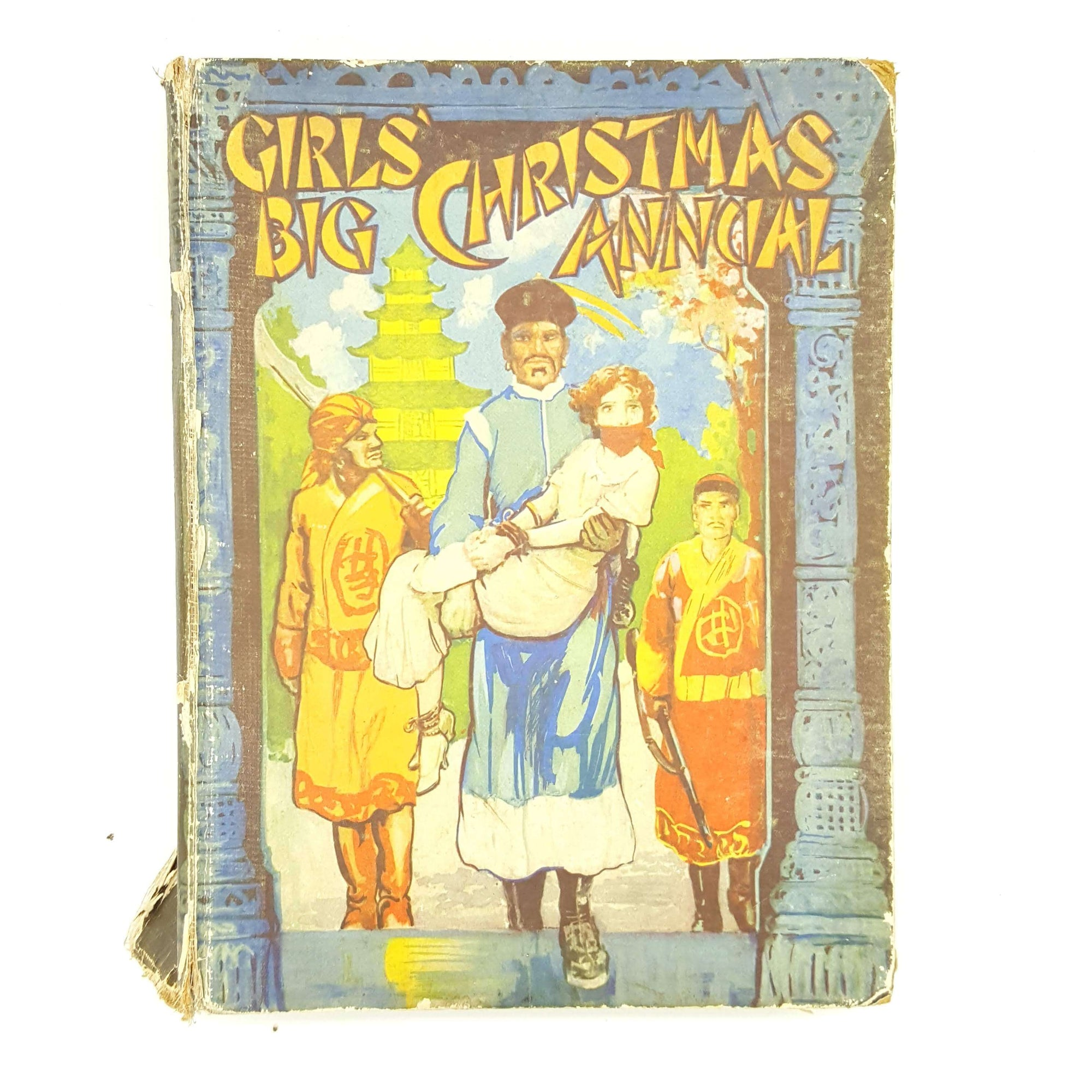 Girls' Big Christmas Annual 1935 Country House Library