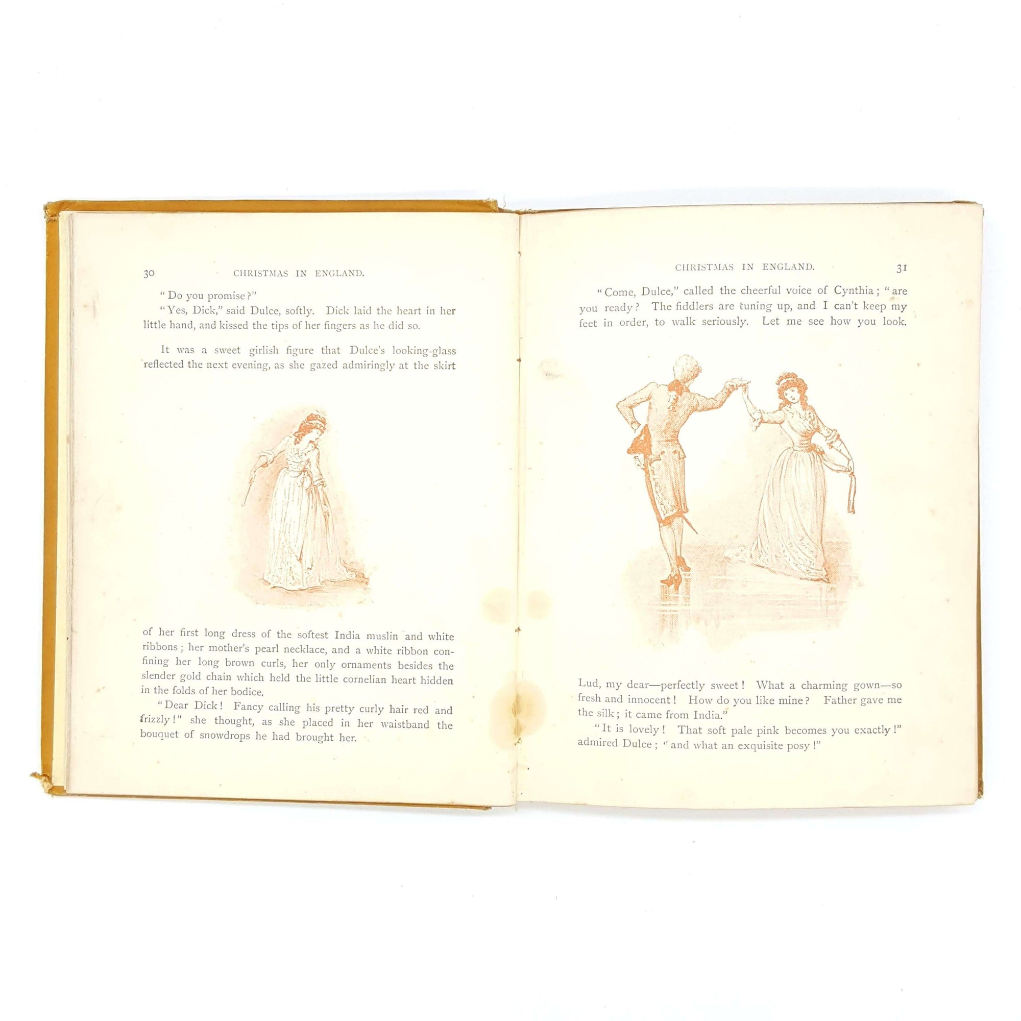 Rare edition of Christmas in Many Lands by Florence & Edith Scannell Country House Library